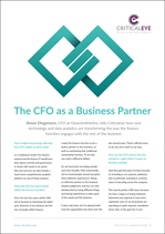 The CFO as a Business Partner