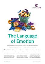 The Language of Emotion