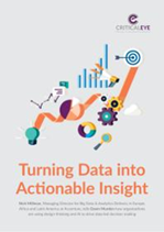 Turning Data into Actionable Insight