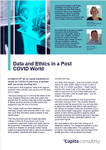 Data and Ethics in a Post-COVID World