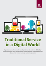 Traditional Service in a Digital World