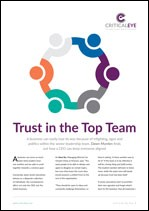 Trust in the Top Team