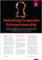 Unlocking Corporate Entrepreneurship