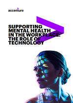 Supporting Mental Health in the Workplace: The Role of Technology
