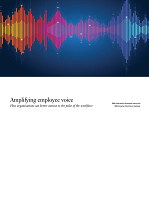 Amplifying Employee Voice