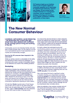The New Normal  Consumer Behaviour