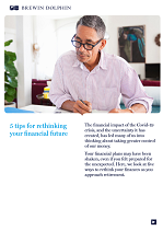 5 Tips for Rethinking your Financial Future