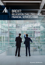 Brexit: Relocation Challenges for Financial Services Firms