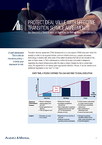 Protect Deal Value with Effective Transition Service Agreements