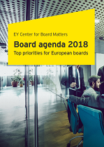 Top Priorities for European Boards 2018