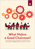 What Makes a Good Chairman?
