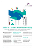 What to Consider Before a Partnership