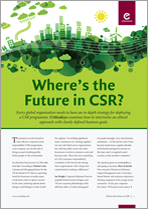 Where's the Future in CSR?