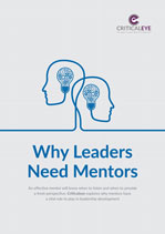 Why Leaders Need Mentors