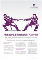 Managing Shareholder Activism