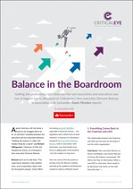 Balance in the Boardroom