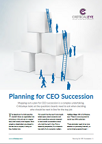 Planning for CEO Succession