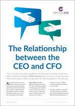 The Relationship between the CEO and the CFO