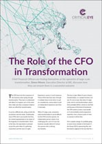 The Role of the CFO in Transformation