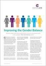 Improving the Gender Balance