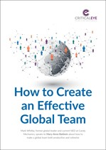 How to Create an Effective Global Team