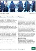 Successful Strategic Planning Processes