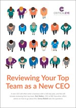 Reviewing Your Top Team as a New CEO