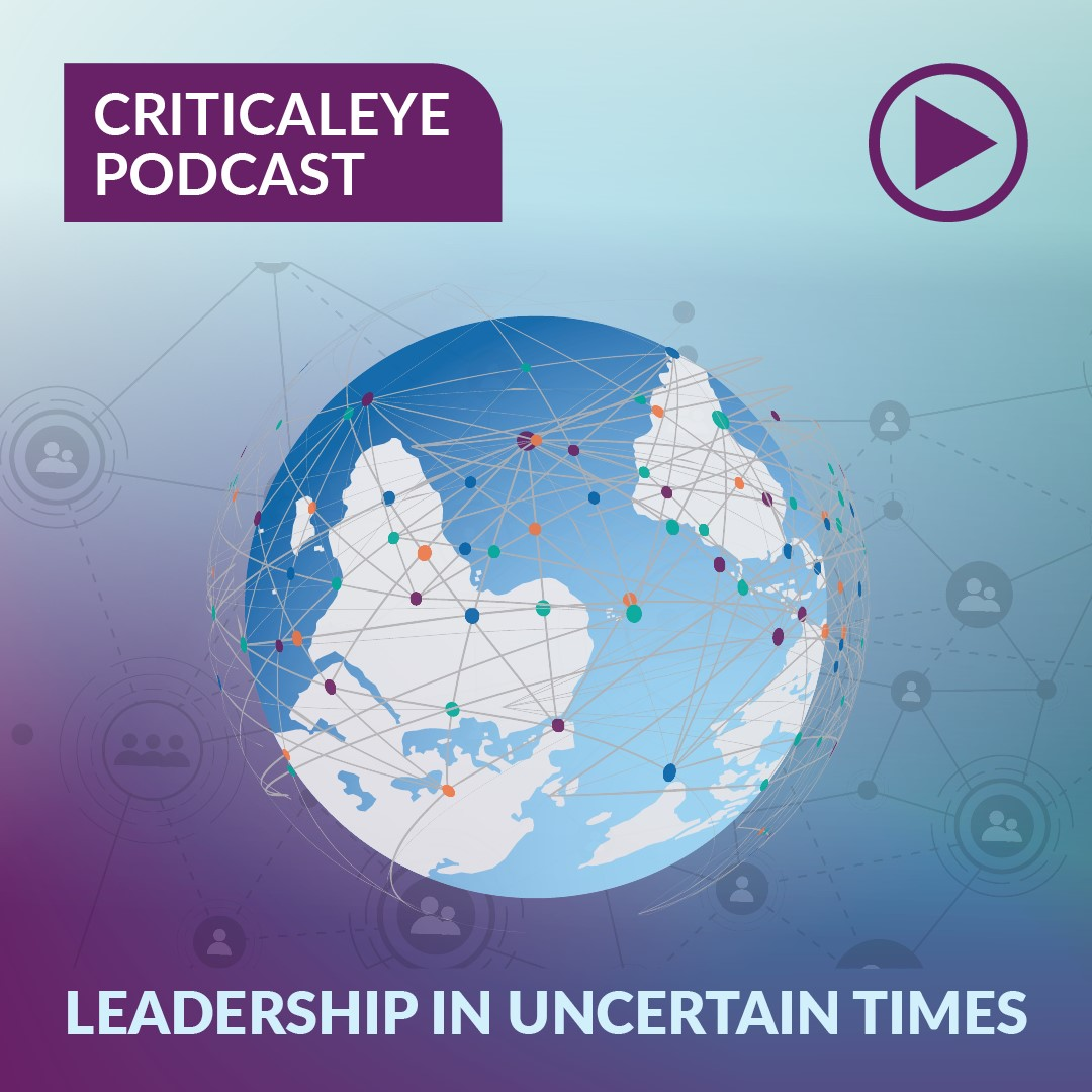 Leadership in Uncertain Times - Part 1