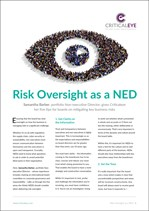 Risk Oversight as a NED