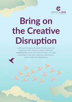 Bring on the Creative Disruption