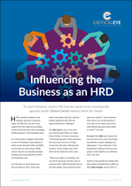 Influencing the Business as an HRD