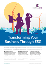 Transforming Through ESG