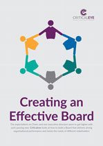 Creating an Effective Board