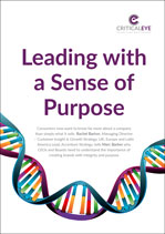 Leading with a Sense of Purpose