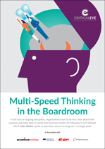 Multi-Speed Thinking in the Boardroom