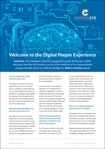 Welcome to the Digital People Experience
