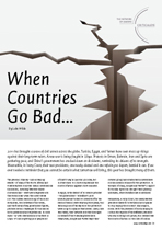 When countries go bad...