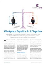 Workplace Equality: In It Together
