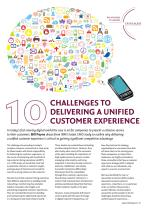 10 Challenges to Delivering a Unified Customer Experience