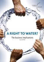 A Right to Water: the business implications