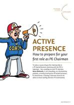 Active Presence: How to prepare for your first role as a PE chair