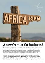 Africa - A new frontier for business?