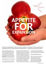 Appetite for Expansion