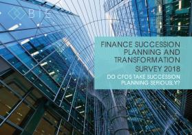 Do CFOs Take Succession Planning Seriously?