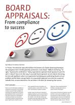 Board Appraisals - From Compliance to Success