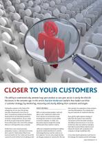 Closer to Your Customers