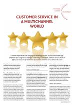 Customer Service in a Multichannel World