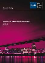 Report on FTSE AIM 100 Directors' Remuneration - 2011