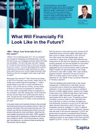 Financially Fit For the Future?