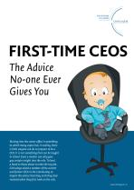 First-Time CEOs - The Advice No-One Ever Gives You